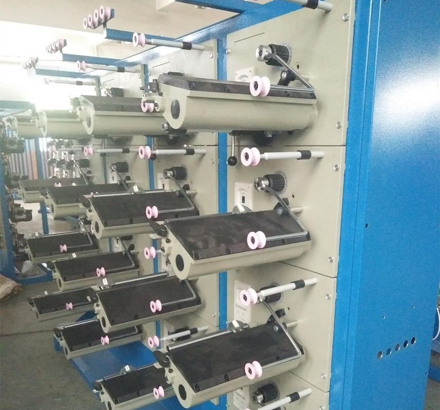 Flat Wire Automatic Cone Winding Machine Variable Frequency Electronic Constant Tension