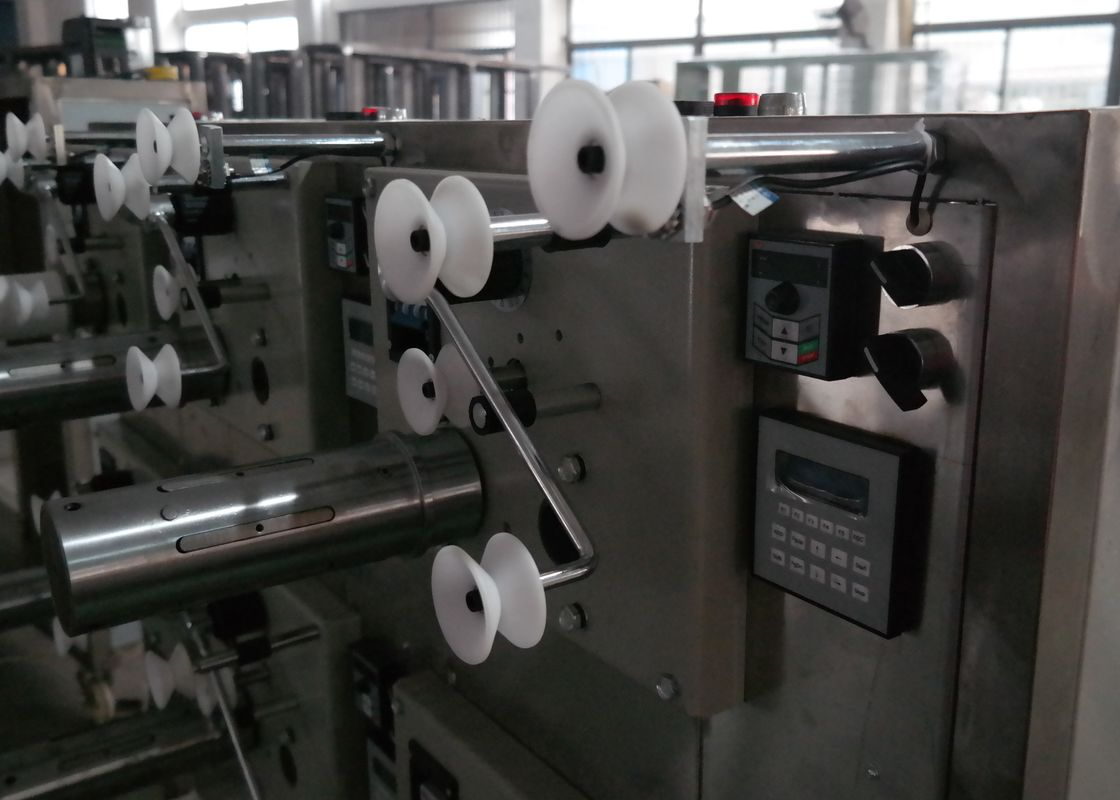 Precision Sewing Thread Winding Machine , High speed Industrial Yarn Winder